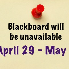 Scheduled Blackboard Upgrade