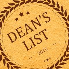 Dean's List Terms 4A15 & 4B15