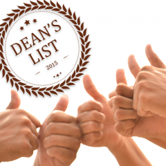 Dean's List   Term 6A15