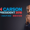 Ben Carson Holding Public Town Hall Meeting at Waldorf