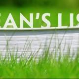 Dean's List 5B18